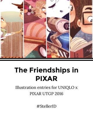 The Friendships in PIXAR