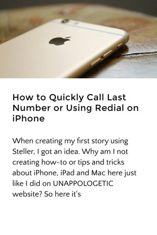 How to Quickly Call Last Number or Using Redial on iPhone