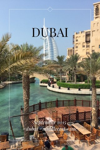 DUBAI September 2015 #dubai #middleeast #uae