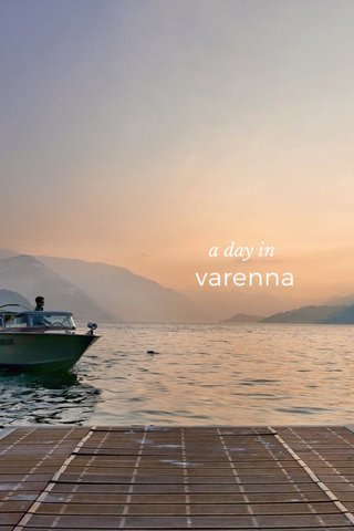 varenna a day in