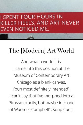 The [Modern] Art World
