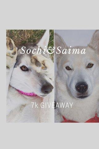 Sochi&Saima 7k GIVEAWAY