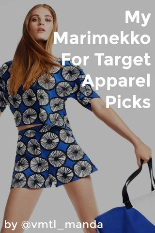 My Marimekko For Target Apparel Picks by @vmtl_manda