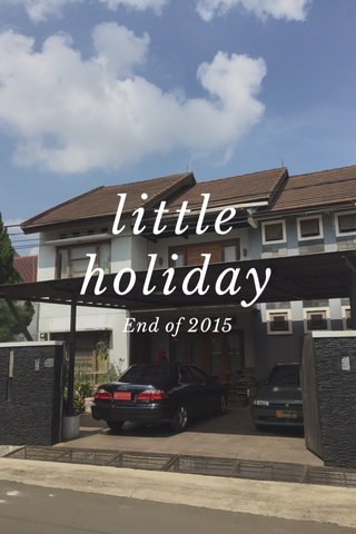 little holiday End of 2015