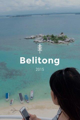 Belitong 2015
