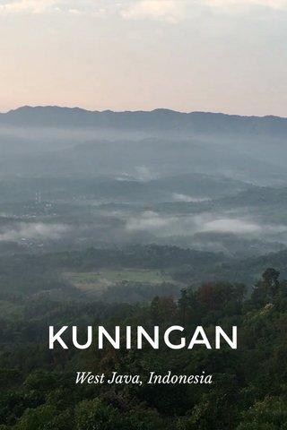 KUNINGAN West Java, Indonesia