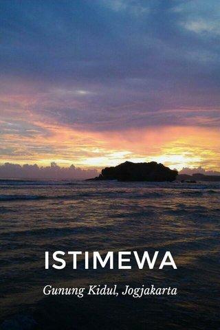 ISTIMEWA Gunung Kidul, Jogjakarta