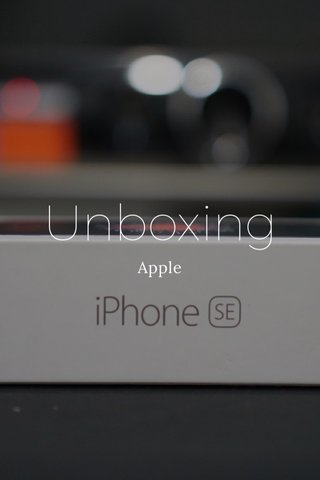 Unboxing Apple