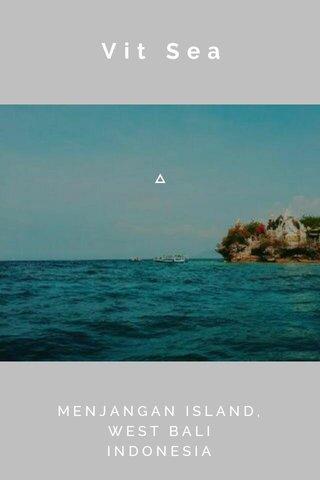 Vit Sea MENJANGAN ISLAND, WEST BALI INDONESIA