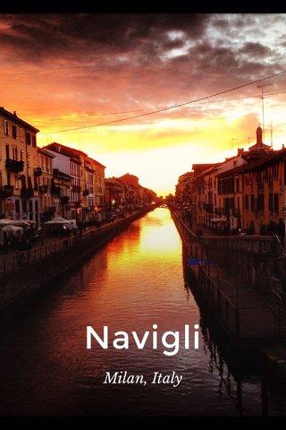 Navigli Milan, Italy