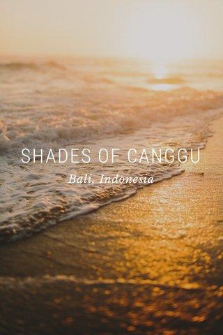 SHADES OF CANGGU Bali, Indonesia