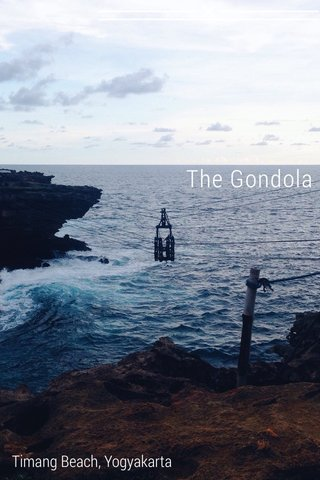 The Gondola Timang Beach, Yogyakarta