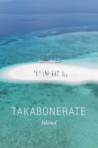 TAKABONERATE Island