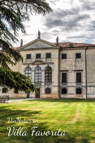 Villa Favorita VinNatur in