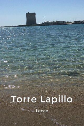 Torre Lapillo Lecce