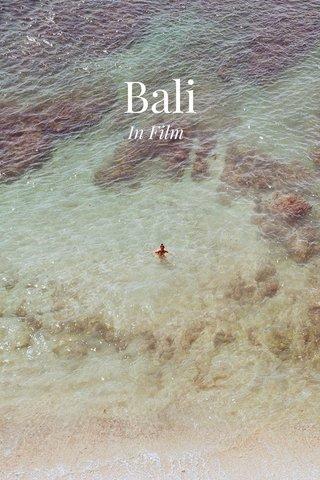 Bali In Film