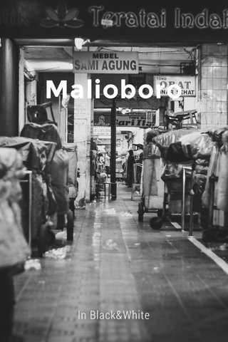 Malioboro In Black&White