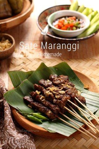 Sate Maranggi Homemade
