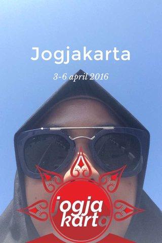 Jogjakarta 3-6 april 2016