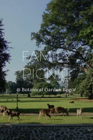 FAMILY PICNIC @ Botanical Garden Bogor