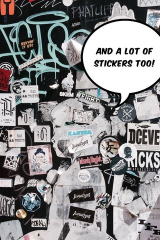 And a lot of stickers too!