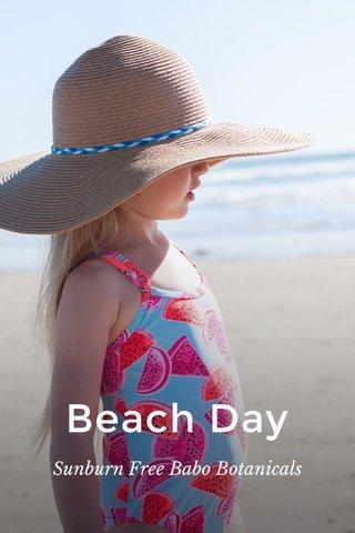Beach Day Sunburn Free Babo Botanicals
