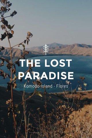 THE LOST PARADISE Komodo Island - Flores