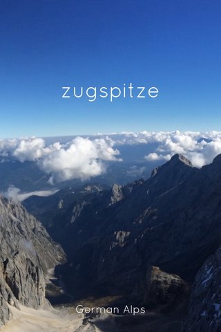 zugspitze German Alps