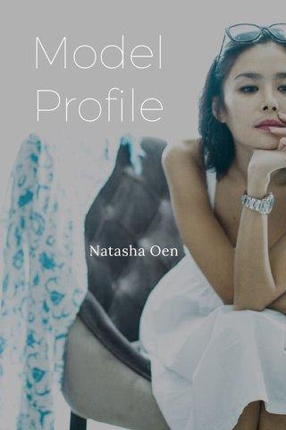 Model Profile Natasha Oen