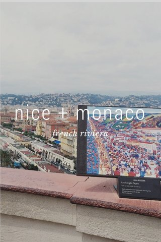 nice + monaco french riviera