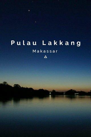 Pulau Lakkang Makassar