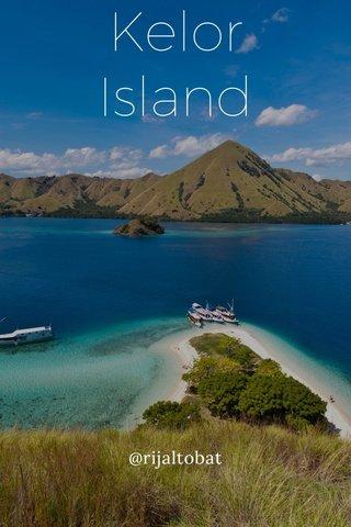 Kelor Island @rijaltobat