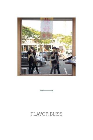 FLAVOR BLISS