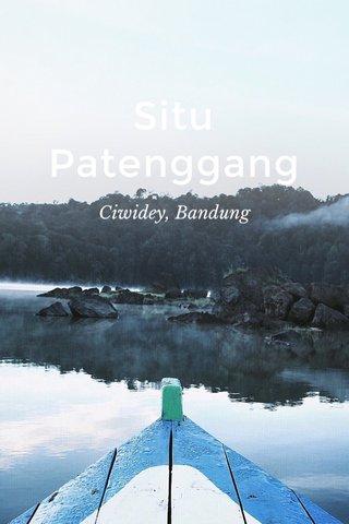 Situ Patenggang Ciwidey, Bandung