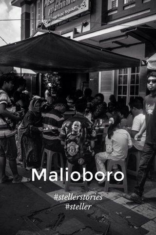 Malioboro #stellerstories #steller