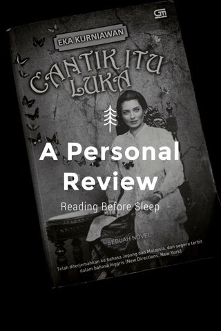 A Personal Review Reading Before Sleep