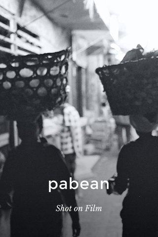 pabean Shot on Film