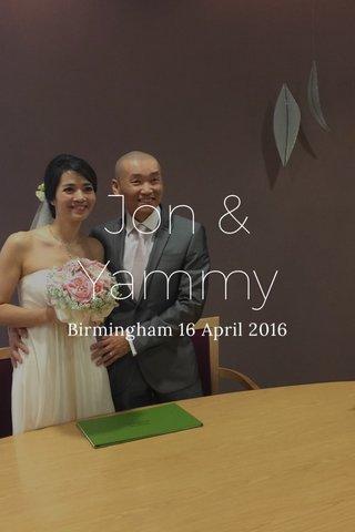 Jon & Yammy Birmingham 16 April 2016