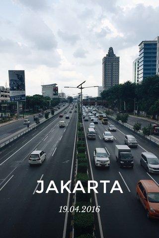 JAKARTA 19.04.2016