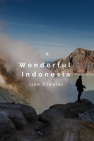 Wonderful Indonesia Ijen Creater