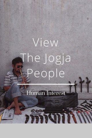 View The Jogja People Human Interest