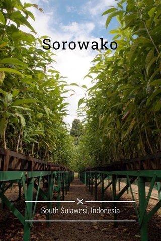 Sorowako South Sulawesi, Indonesia