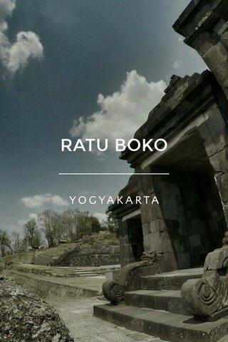 RATU BOKO YOGYAKARTA