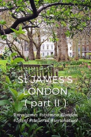 St JAMES'S LONDON ( part II ) #mystjames #stjamess #london #5ftinf #stelleruk #seewhatisee