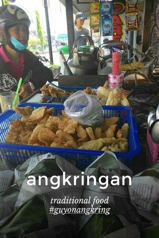angkringan traditional food #guyonangkring