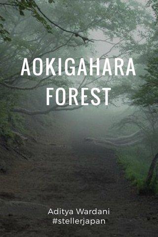 AOKIGAHARA FOREST Aditya Wardani #stellerjapan