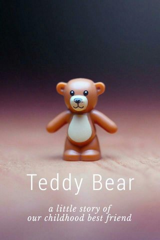Teddy Bear a little story of our childhood best friend