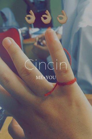 Cincin ME+YOU