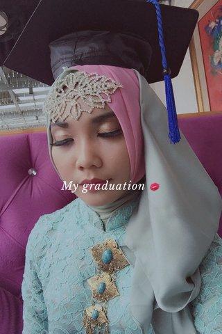 My graduation 💋