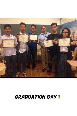 graduation day🏅